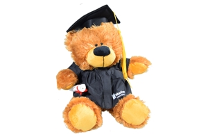 Plush Bobby Grad Bear
