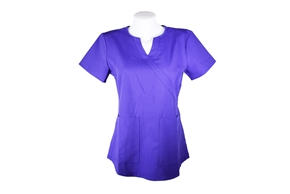 Purple Scrub Top