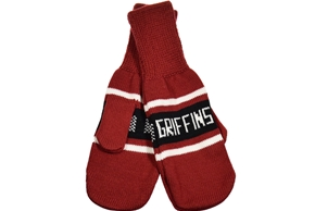Griffins Knitted Mittens