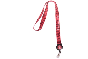 Sublimated Lanyard W/Badge Reel