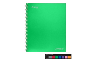 Wired 1 Subject Notebook