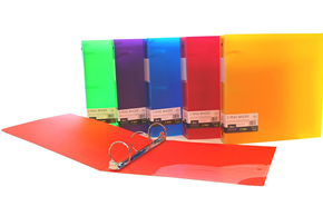 Clear Poly Binder