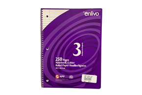 Enlivo Notebook 250 Pages